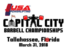 2nd Annual USA Powerlifting Capital City Barbell Championships