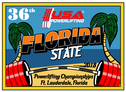 USA Powerlifting 36th Annual Florida State Open Championships (FL-2018-03)