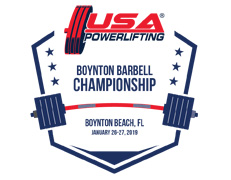 2019 USA Powerlifting Boynton Barbell Center Championship (FL-2019-01)