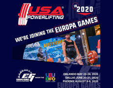 2020 USA Powerlifting Europa Games Expo Powerlifting Championships (FL-2020-07)