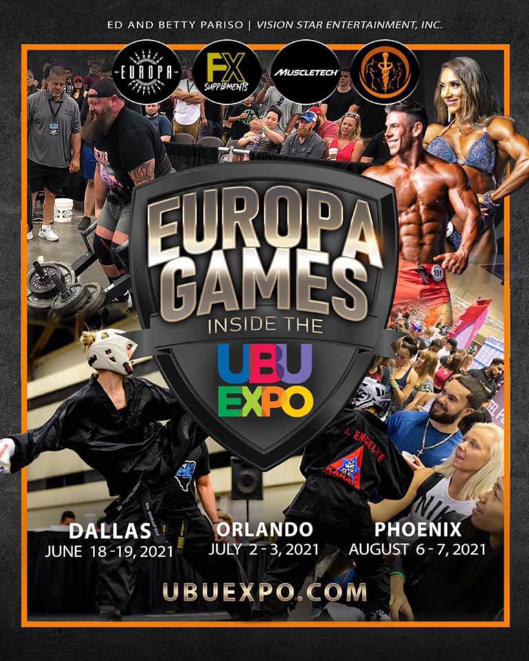2021 USA Powerlifting Europa Games Expo Powerlifting Championships (FL-2021-02)