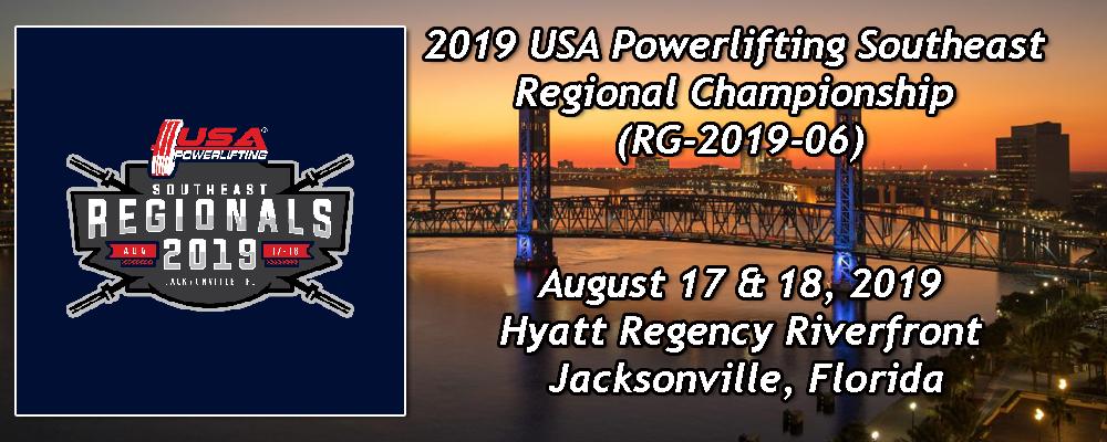 2019 USA Powerlifting Southeast Regional Championship