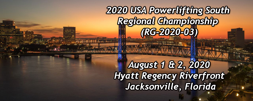 2020 USA Powerlifting South Regional Championship