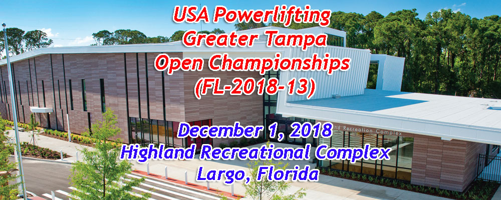 USA Powerlifting Greater Tampa Open Championships (FL-2018-13)