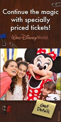 Walt Disney World Specially Priced Tickets